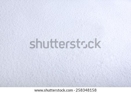 Christmas, Christmas tree, snowman in the snow, decoration - stock photo