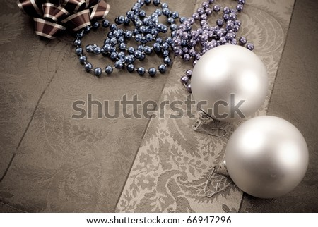 Christmas Decorating Concept Image