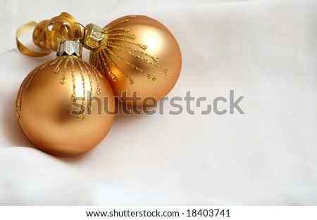 Christmas decoration. Balls.