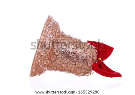 Christmas decoration for tree. Isolated on white background.