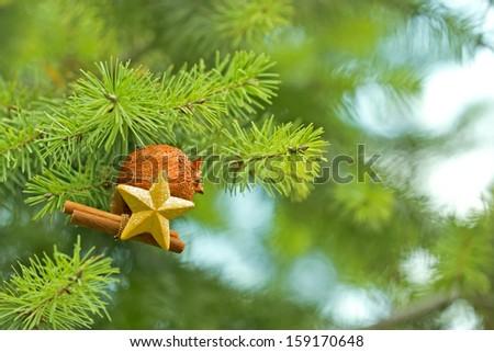 Christmas decoration - Merry Christmas - stock photo