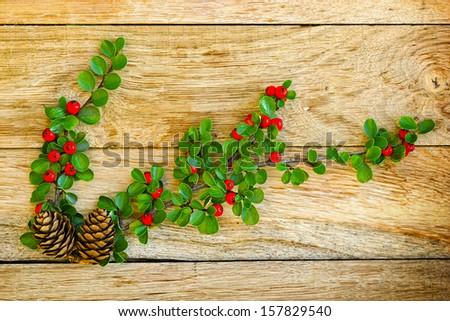 Christmas decoration - New Year's decoration  - stock photo