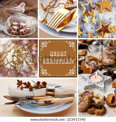 Christmas Decoration  Set - stock photo