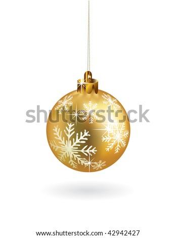 Christmas decoration. Vector version in portfolio. - stock photo