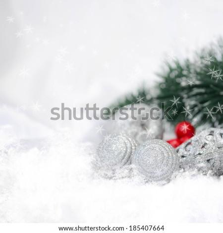 Christmas decorations  - stock photo