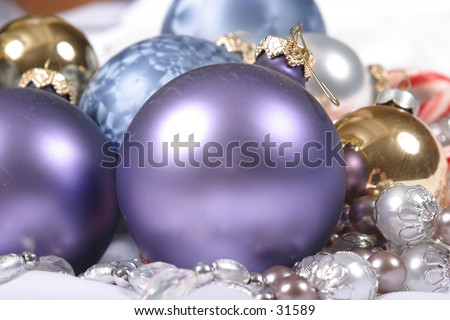 Christmas Decorations 6 - stock photo
