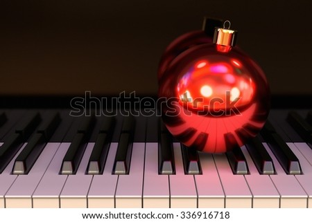 Christmas Eve party - stock photo