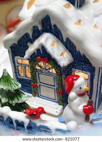 Christmas Figurines - stock photo