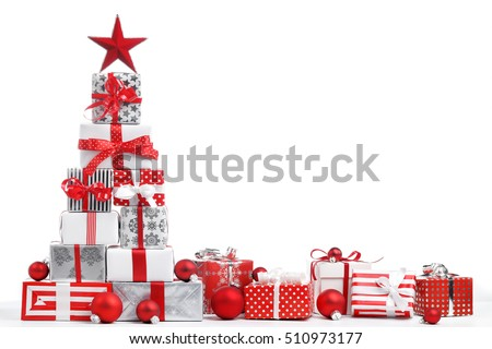 Christmas gift stock images royalty free images vectors christmas gift boxes on white background negle Choice Image