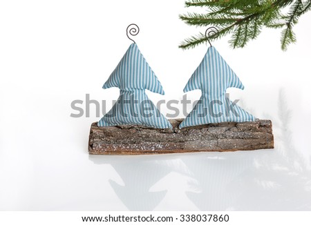 Christmas gift, Christmas presents, gifts, claus, Christmas trees  - stock photo