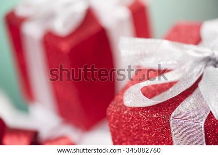 christmas gifts - stock photo
