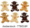 christmas gingerbread womens - stock photo