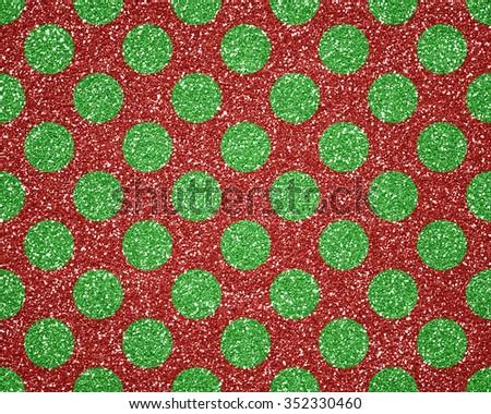 Christmas glitter festive background - stock photo