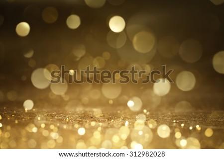 Christmas gold background.  - stock photo