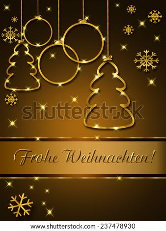 Christmas greeting card elegant german stock illustration 237478930 christmas greeting card elegant german m4hsunfo