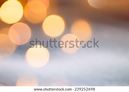 Christmas holidays lights - stock photo