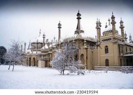 Christmas in Brighton - stock photo