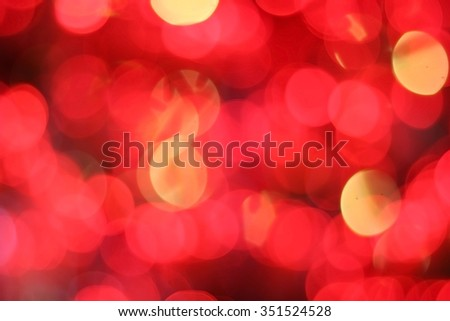 Christmas is a time of love. blur red scene glowing decoration jolly celebrate celebration traditional elegant december fragile golden separated object satin gold jubilant classy bauble celebrating - stock photo