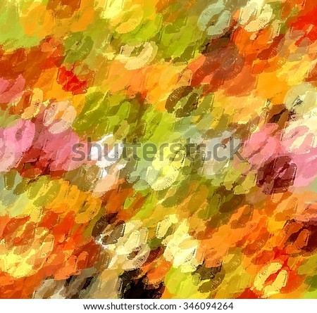 Christmas kiss lipstick abstract background