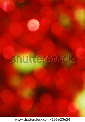 Christmas lights background - stock photo