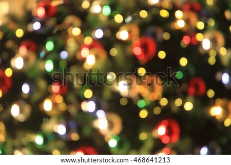 christmas lights texture as very nice holiday background