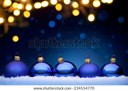 Christmas night - stock photo