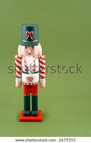 Christmas Nutcracker - stock photo