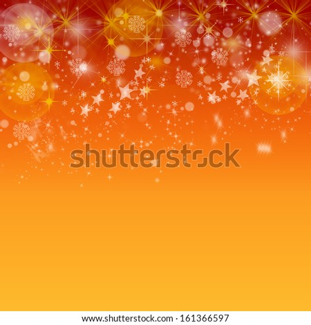 Christmas orange background