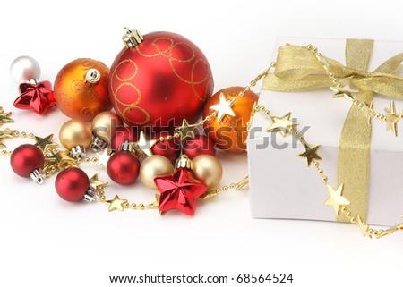 christmas present - stock photo