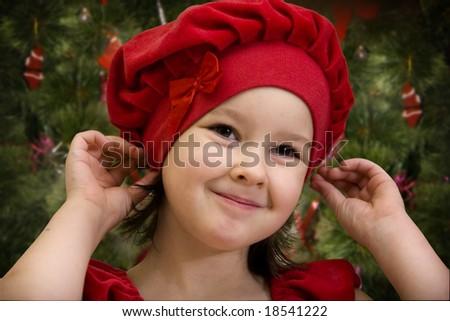 Christmas princess - stock photo