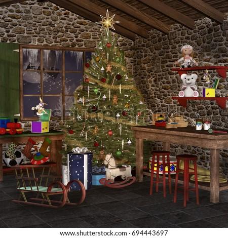 Christmas Room ellerslie's portfolio on shutterstock