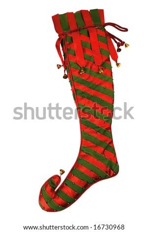 christmas socks - stock photo