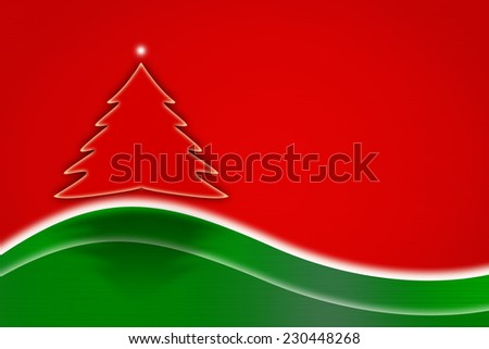 Christmas stainless steel  background. Card or invitation.