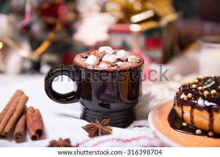 christmas sweets - stock photo