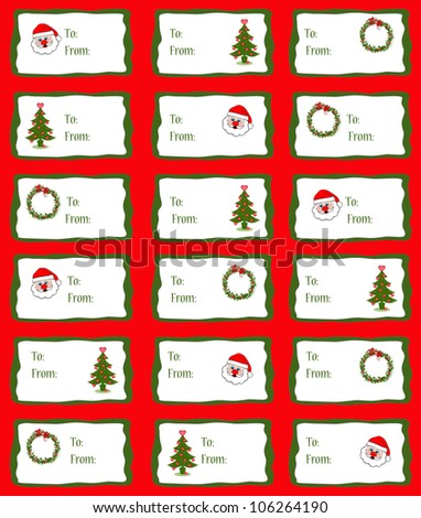Christmas Tags/Stickers