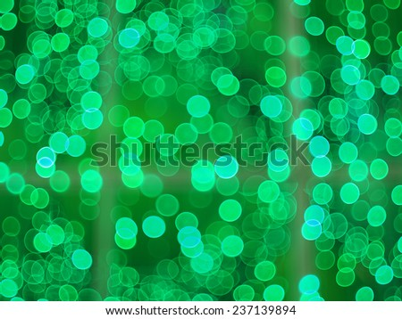 christmas tree and beautiful bokeh - stock photo