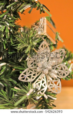 Christmas tree, Christmas decorations, Interior decor