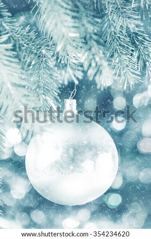 christmas tree decoration