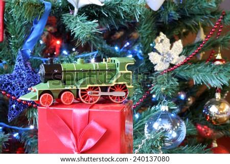 Christmas tree decoration. Christmas decoration. - stock photo
