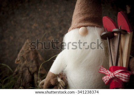 Christmas tree toys. for the new year 2016 - stock photo