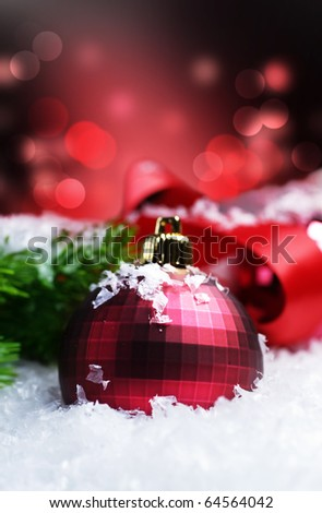 Christmas with space for text. - stock photo
