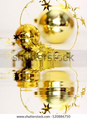 Christmass balls - stock photo