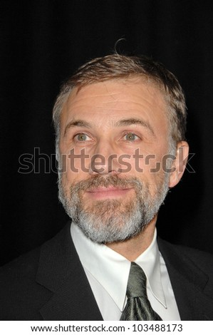Christoph Waltz at the 35th Annual Los Angeles Film Critics Association Awards, InterContinental Los Angeles, Century City, CA. 01-16-10