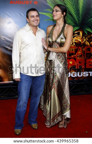 Christopher Knight and wife Adrianne Curry at the World premiere of 'Pineapple Express' held at the Mann Village Theater in Westwood, USA on July 31, 2008.