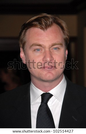 Christopher Nolan at the 62nd Annual DGA Awards - Arrivals, Hyatt Regency Century Plaza Hotel, Century City, CA. 01-30-10