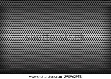 Chrome black and grey background texture vector illustration eps10  - stock photo