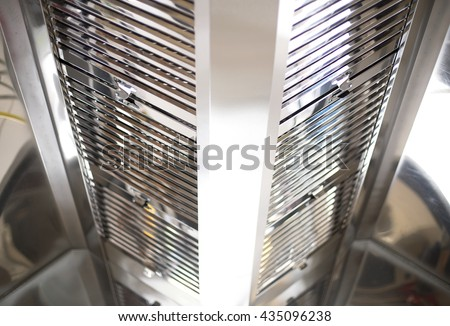 commercial kitchen hood stock photos, royalty-free images