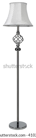 CHROME LIGHTING STANDING LAMP