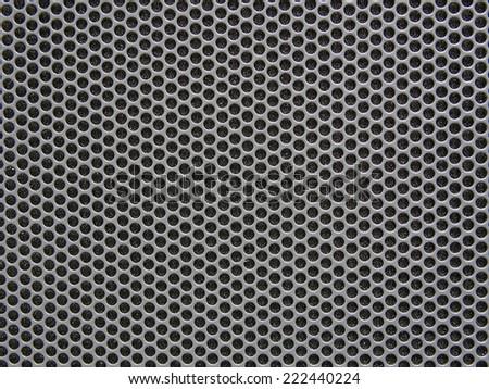 chrome metal texture - stock photo