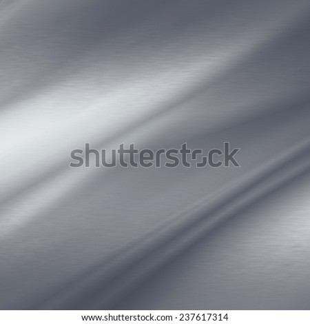 chrome metal texture abstract background and abstract beams of light - stock photo